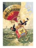Biscuits Franco-Americaine, c.1888 Autocollant mural par Théophile Alexandre Steinlen