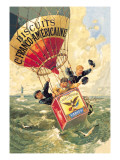 Biscuits Franco-Americaine, c.1888 Wall Decal by Thophile Alexandre Steinlen