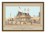 Centennial International Exhibition, 1876 Wall Decal by Thompson Westcott