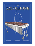The Xylophone Wall Decal