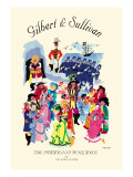 Gilbert & Sullivan: The Pirates of Penzance, or The Slave of Duty Wall Decal
