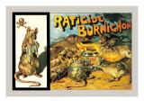 Raticide Burnichon, c.1888 Autocollant mural par Théophile Alexandre Steinlen