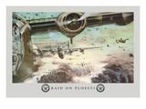 Raid on Ploesti Wall Decal by Stanley Dersk