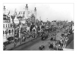 Luna Park and Surf Avenue Wall Decal by Irving Underhill