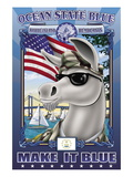 Ocean State Blue, Rhode Island Remembers Wall Decal by Richard Kelly