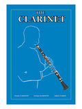 The Clarinet Wall Decal