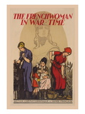 The French Woman in War-Time Wall Decal by G Capon