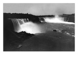 Bird's-Eye View of Niagara Falls Wall Decal by George Barker