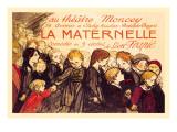 La Maternelle: Comedie en 3 Actes, c.1920 Autocollant mural par Théophile Alexandre Steinlen