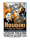 Do Spirits Return Houdini Says No Wall Decal