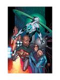 Ultimate Secret No.1 Cover: Captain Marvel Art by Steve MCNiven