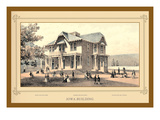 Iowa Building, Centennial International Exhibition, 1876 Wall Decal by Linn Westcott