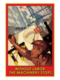 Without Labor Wall Decal