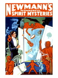 Newmann's Wonderful Spirit Mysteries Wall Decal