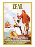 Zeal Wall Decal