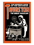 Mix Up Nature: Thurston the Great Magician the Wonder Show of the Universe Wall Decal