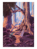 The Enchanted Prince Sticker mural par Maxfield Parrish