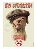 Roken verboden Muursticker