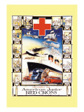 Progress with American Junior Red Cross Wall Decal by D Lowry