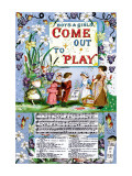 Boys and Girls Come Out to Play, c.1885 Wall Decal by Walter Crane