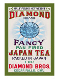 Diamond Brand Tea Wall Decal
