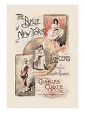 The Belle of New York, Lancers Wall Decal by W&d Downey