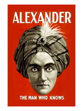 Alexander: The Man Who Knows Wall Decal
