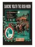 Dancing 'Neath the Irish Moon Wall Decal