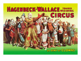 Hagenbeck-Wallace Circus, An Army of Clowns Wall Decal