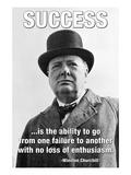 Succes, på engelsk Wallstickers