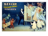 Kellar and His Perplexing Cabinet Mysteries Wall Decal