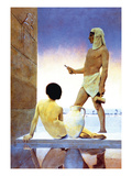 Egypt Wall Decal by Maxfield Parrish