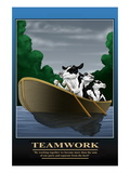 Teamwork Wall Decal by Richard Kelly