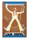 Don Q- Son of Zorro Wall Decal by  Stenberg Brothers