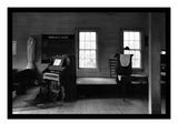Tennessee Church Interior Wall Decal by Walker Evans