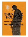 William Gillette as Sherlock Holmes: Farewell Appearance Wall Decal