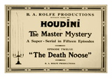Houdini in the Master Mystery a Super-Serial in Fifteen Episodes Wall Decal