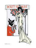 Beauty and the Beast, c.1900 Wall Decal by Walter Crane