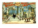 Frederick Bancroft, Prince of Magicians Wallsticker