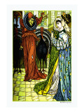 The Yellow Dwarf, The Sorcerer, c.1878 Wall Decal by Walter Crane