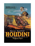 The Literary Digest: Houdini Buried Alive Wall Decal
