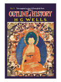 Outline of History by H.G. Wells, No. 9: The East Wall Decal