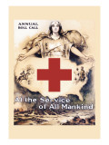 At the Service of All Mankind Wall Decal by Lawrence Wilbur