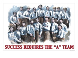 Success Requires the A Team Wall Decal