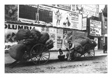 New York Rag Carts Wall Decal by Elizabeth Alice Austen