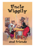 Uncle Wiggily and Friends: Pudding Wall Decal