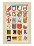 Heraldic Arms: Twemlow and Mascally Wall Decal by Hugh Clark
