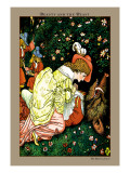 Beauty and the Beast, In the Woods, c.1900 Wall Decal by Walter Crane
