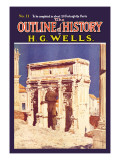 Outline of History by H.G. Wells, No. 11: Empire Wall Decal