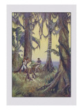 Robinson Crusoe: Nor Can I Tell Wall Decal by Milo Winter